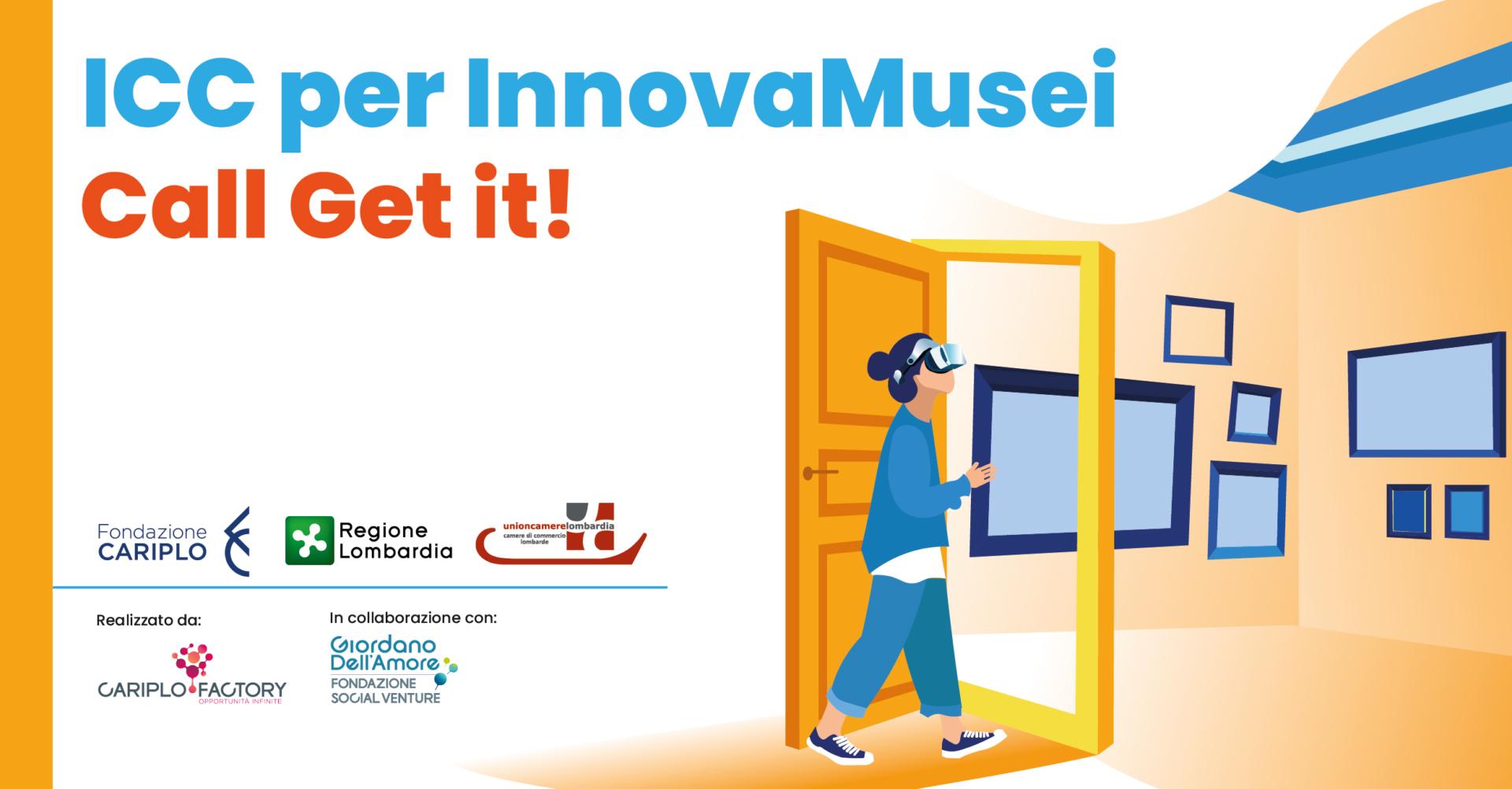 InnovaMusei – Call Get it!: FSVGDA investe in 3 imprese a impatto culturale