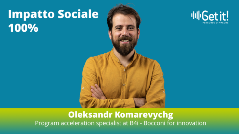Oleksandr Komarevych è il nuovo mentor Get it!
