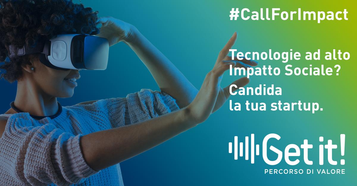 Via alla Call For Impact sulle tecnologie abilitanti applicate alla social innovation